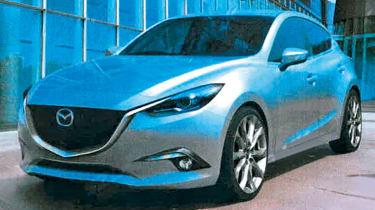 Leaked Mazda 3 front static
