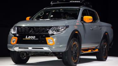 Mitsubishi L200 Geoseek concept - Geneva show front
