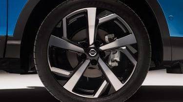 New Nissan Qashqai facelift - wheel detail