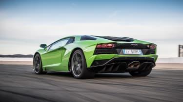 Lamborghini Aventador S - rear action