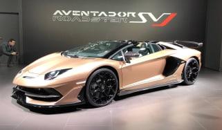 Lamborghini Aventador SVJ Roadster - Geneva front