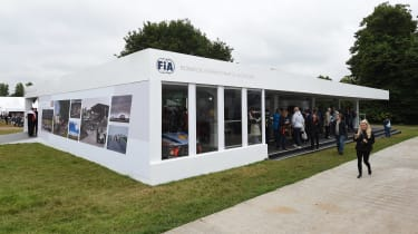 FIA Goodwood stand