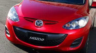 Mazda 2 EV 2013 front