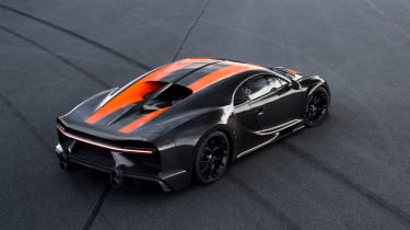 Bugatti Chiron - rear static