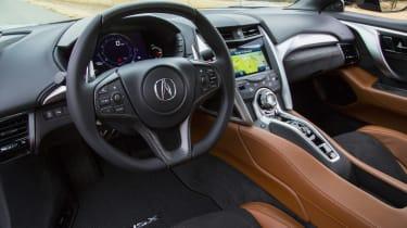 New Honda NSX 2015 interior