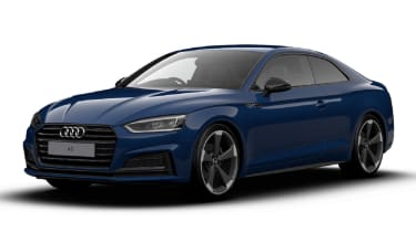 Audi A5 Coupe Black Edition