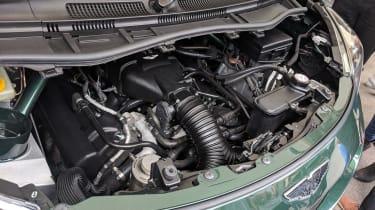 Goodwood Festival of Speed - Aston Martin V8 Cygnet engine