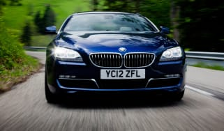 BMW 640d Gran Coupe front