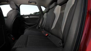 Four six-foot adults will sit in comfort thanks to the increased legroom over the 3-door.