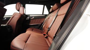 Mercedes E-Class Estate rear seats