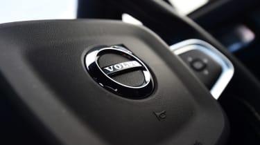 Volvo XC40 - steering wheel detail