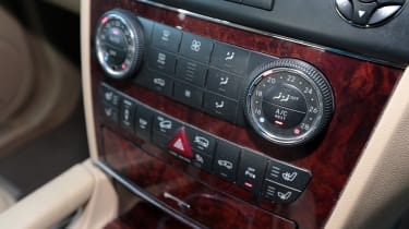 Used Mercedes M-Class - centre console