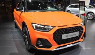 Audi A1 Citycarver - front 3/4 static Frankfurt