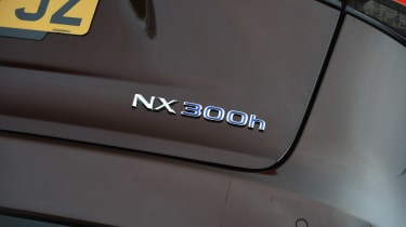 Lexus NX 300h - NX 300h badge