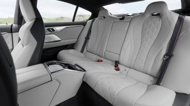 BMW M8 Gran Coupe - rear seats