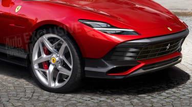 Ferrari Purosangue final detail