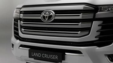 Toyota Land Cruiser - grille