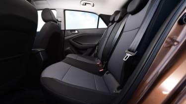 Hyundai i20 - rear seats