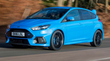 Ford Focus RS - front quarter action