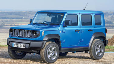 Baby Jeep SUV - front (watermarked)