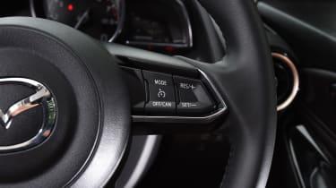 Mazda 2 - steering wheel