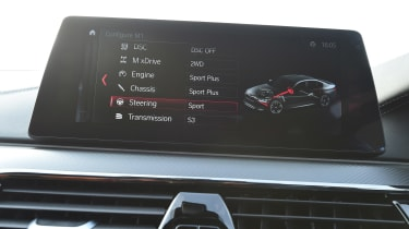 BMW M5 - infotainment