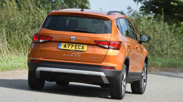 SEAT Ateca First Edition - rear cornering