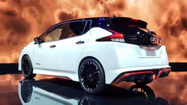 Nissan Leaf Nismo - Tokyo rear static