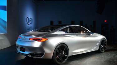Infiniti Q60 Concept at Detroit