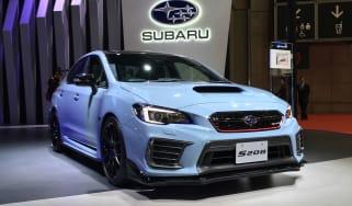 Subaru S208 WRX STi - front