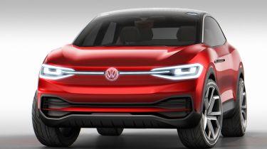 Volkswagen I.D. Crozz II - front