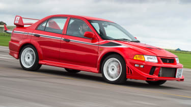 Mitsubishi's 100th year celebration - Evo VI Tommi Makinen Edition