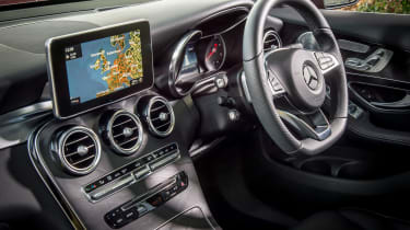 Mercedes GLC 250d Coupe - interior
