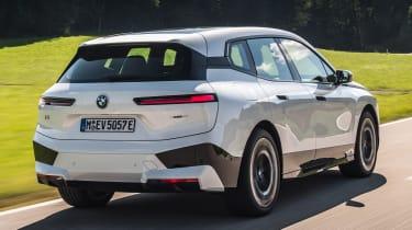 BMW iX - rear