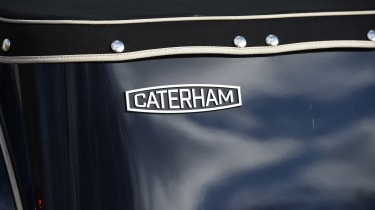 Caterham Seven SuperSprint - Caterham badge