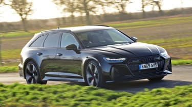 Audi RS 6 - front action