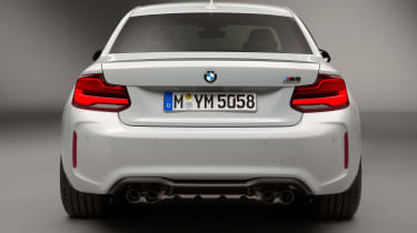 New BMW M2 Competition Pack - rear