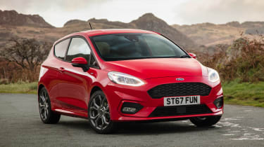 New Ford Fiesta ST-Line - front static