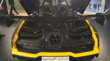 McLaren Senna Carbon Theme rear end