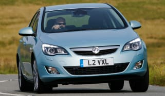 Vauxhall Astra front cornering