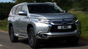 Mitsubishi Shogun Sport front quarter
