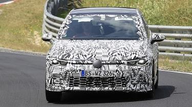 Volkswagen Golf GTI - spied front cornering