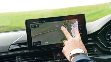 Road driving tips sat-nav