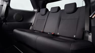 Toyota Yaris GRMN - rear seats