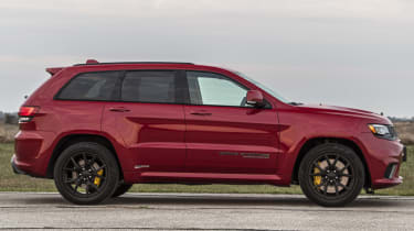 1012bhp Hennessey Jeep Trackhawk side profile