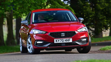 SEAT Leon e-Hybrid long termer - first report front