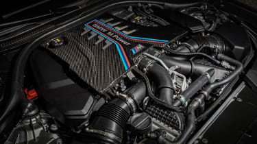 BMW M5 Competition - engine