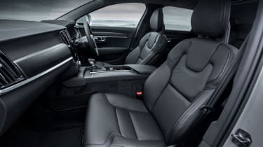 Volvo V90 Cross Country 2017 UK - front seats