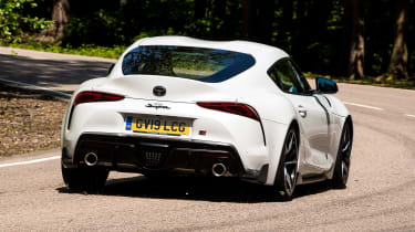Toyota Supra - rear cornering