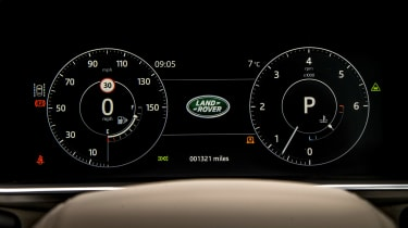 Range Rover Autobiography - dials